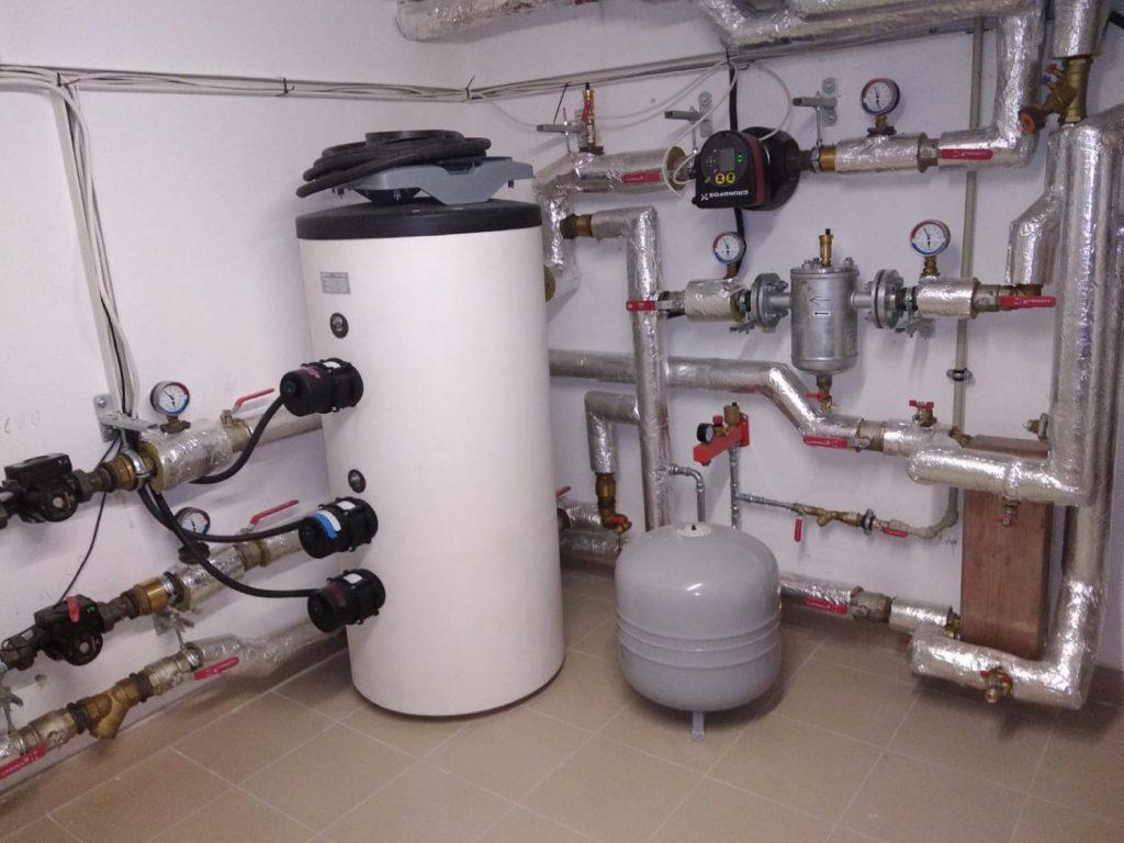 Pompa ciepła powietrze-woda 20 kW