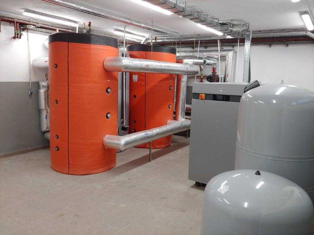 Gruntowa pompa ciepła Moc 222 kW
